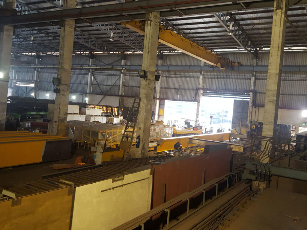 Pioneer Company in Engineering Industry fabricating EOTC(Cranes)  for sale