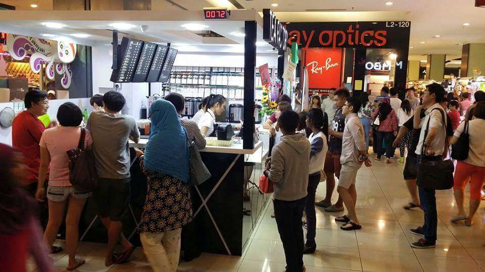 SUPER VALUE BUSINESS FOR TAKE OVER – Franchised Bubble Milk Tea Kiosk in Famous Johor Bahru KSL Shopping Mall for Takeover (Suitable for Immediate Startup or Business Expansion)