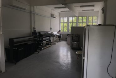 Printing equipment and space for takeover