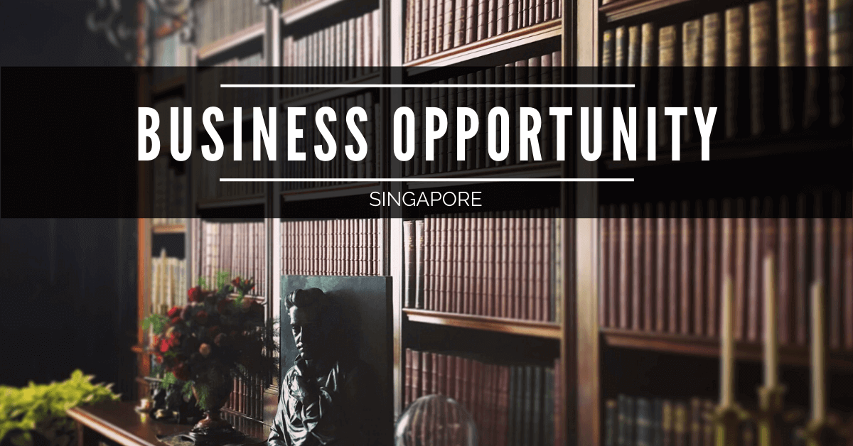Selling Historical Books Business in Singapore, with Profit of 20% ROI. Asking Price $180,000 | 商业出售 | Look For Buyer - Business for Sale or Buy a Ready Business