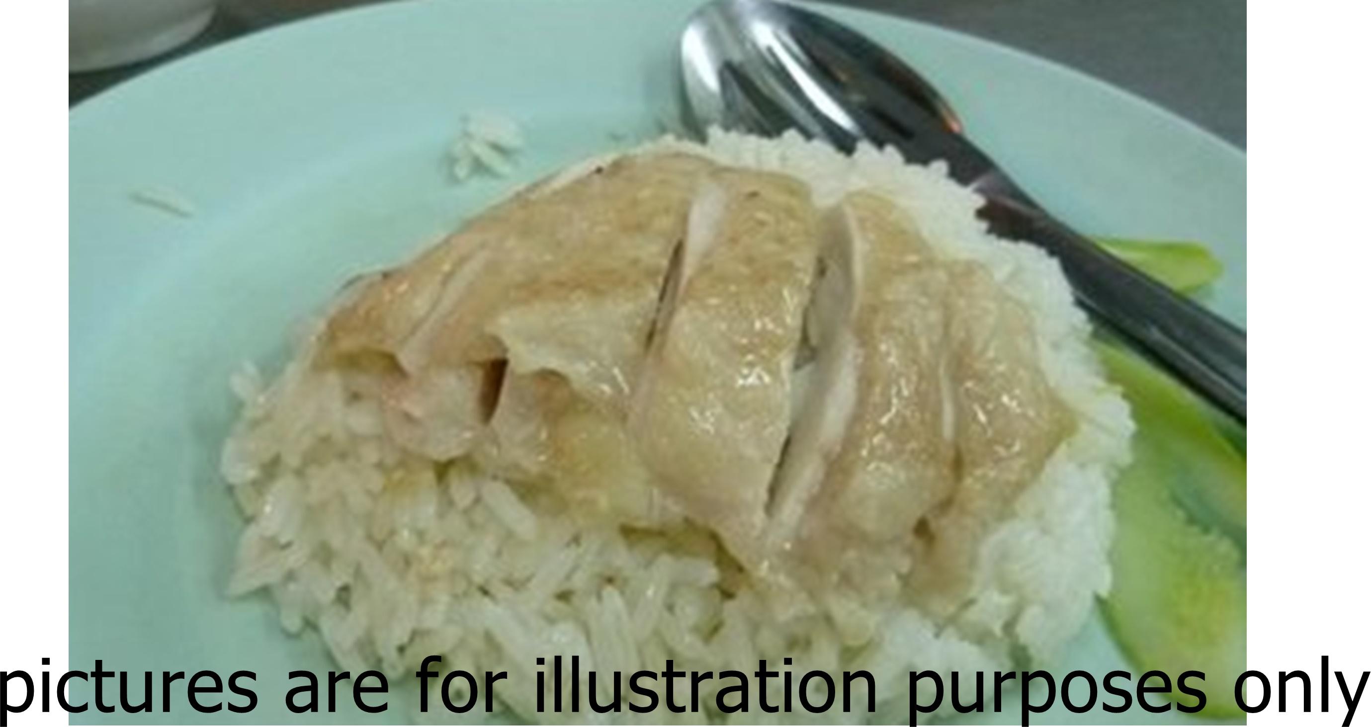 Famous chicken rice near orchard mrt